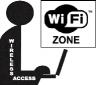 WiFi Lapton Clip Art