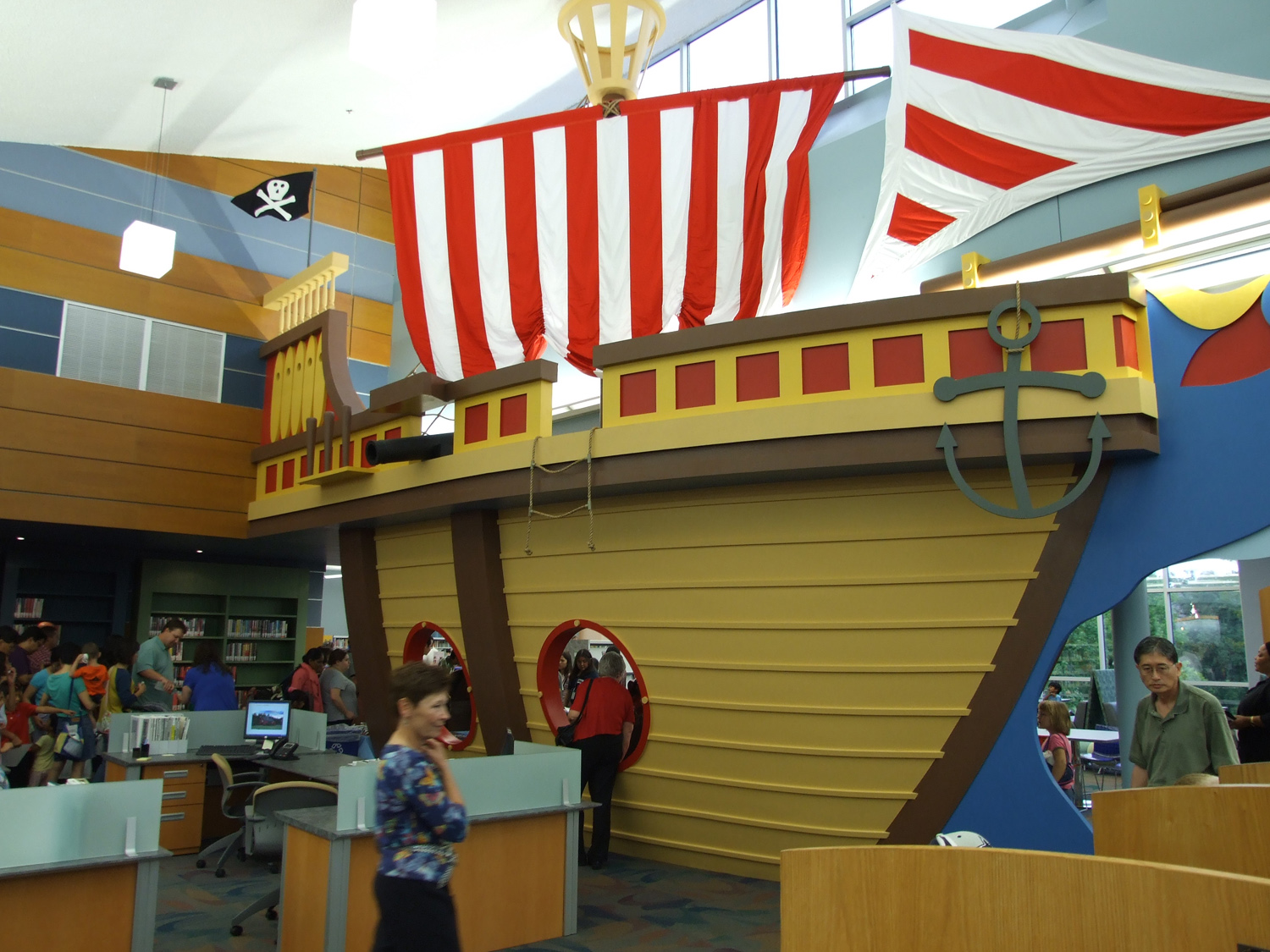 Library Pirate Ship
